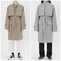 Unisex Oversized Trench Coats