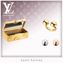 Louis Vuitton Casual Style Unisex Studded Rings