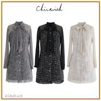 Chicwish Short A-line Long Sleeves Party Style Dresses