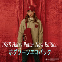 SPAO Unisex Street Style Collaboration A4 Shoppers