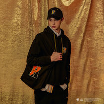 SPAO Unisex Street Style Collaboration A4 Logo Shoppers