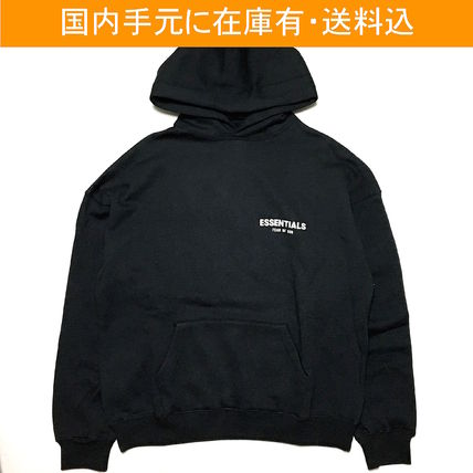 FEAR OF GOD Hoodies Street Style Long Sleeves Oversized Hoodies