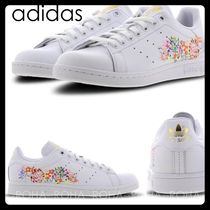 adidas STAN SMITH Flower Patterns Casual Style Low-Top Sneakers