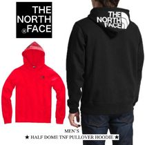 THE NORTH FACE Pullovers Unisex Sweat Street Style Oversized Hoodies