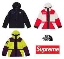 Supreme Short Unisex Street Style Collaboration Jackets