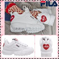 FILA Disruptor 2 Platform Casual Style Street Style Leather
