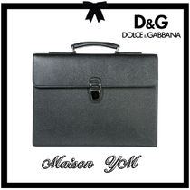 Dolce & Gabbana Plain Leather Business & Briefcases