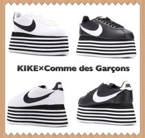 COMME des GARCONS Platform Casual Style Street Style Leather
