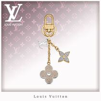 Louis Vuitton Flower Patterns Unisex Blended Fabrics Card Holders