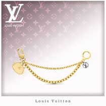 Louis Vuitton Unisex Chain Other Animal Patterns Card Holders