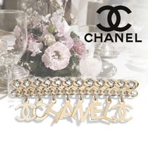 CHANEL Unisex Blended Fabrics Party