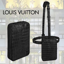 Louis Vuitton Crocodile 2WAY Other Animal Patterns Bags