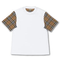 Burberry Crew Neck Cotton Long Short Sleeves T-Shirts