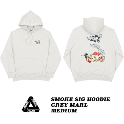Street Style Collaboration Cotton Hoodies