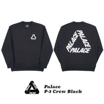 Palace Skateboards Street Style Collaboration Cotton Hoodies