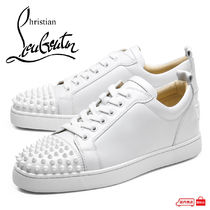 Christian Louboutin LOUIS Studded Leather Sneakers