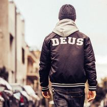 Deus Ex Machina Unisex Plain Coach Jackets Oversized Coach Jackets