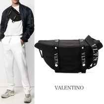 VALENTINO VLTN Unisex Studded Leather Bags