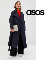 ASOS Casual Style Denim Street Style Plain Long Oversized