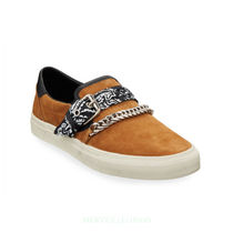 AMIRI Suede Street Style Chain Loafers & Slip-ons