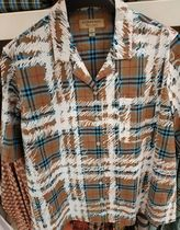 Burberry Other Check Patterns Short Sleeves Shirts & Blouses