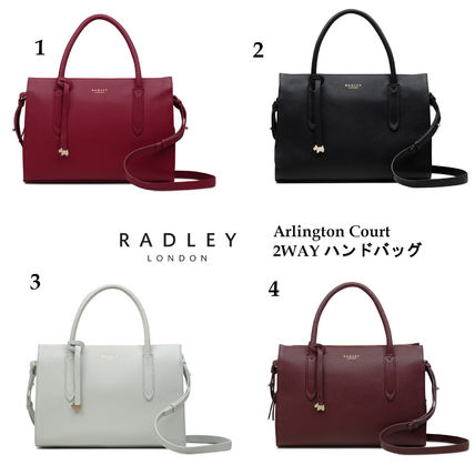 ab5d46cb2 ... RADLEY Handbags Casual Style 2WAY Plain Leather Handbags ...