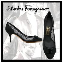 Salvatore Ferragamo Elegant Style High Heel Pumps & Mules