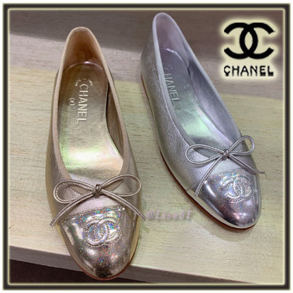 ab64a0bb1 CHANEL Women s Gold Shoes Plain  Shop Online in US
