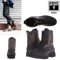 FRYE Mountain Boots Plain Leather Outdoor Boots