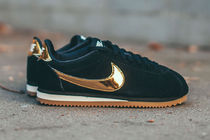 Nike CORTEZ Suede Street Style Plain Low-Top Sneakers