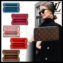 Louis Vuitton ZIPPY WALLET Monogram Leather With Jewels Long Wallets