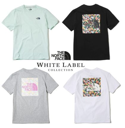 THE NORTH FACE More T-Shirts Flower Patterns Unisex T-Shirts