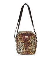 REASON Leopard Patterns Unisex Street Style Shoulder Bags