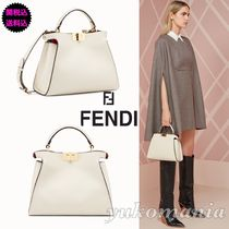 FENDI PEEKABOO Leather Handbags