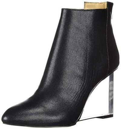 Round Toe Casual Style Street Style Plain Wedge Boots