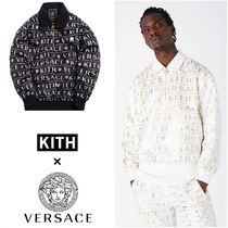 KITH NYC Pullovers Nylon Street Style Collaboration Long Sleeves Tops