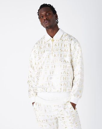 KITH NYC More Tops Pullovers Nylon Street Style Collaboration Long Sleeves Logo 2
