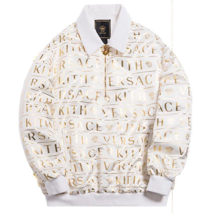 KITH NYC More Tops Pullovers Nylon Street Style Collaboration Long Sleeves Logo 3
