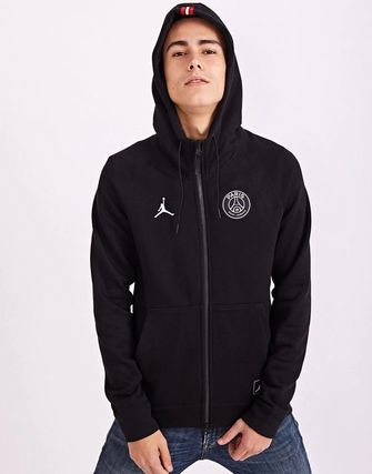 Nike Hoodies Pullovers Unisex Street Style Collaboration Bi-color 13