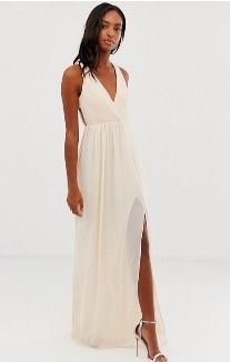 Maxi Sleeveless V-Neck Long Dresses