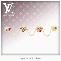 Louis Vuitton Flower Chain Party Style Rings