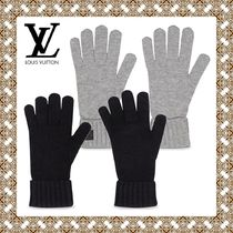 Louis Vuitton Other Check Patterns Cashmere Gloves Gloves