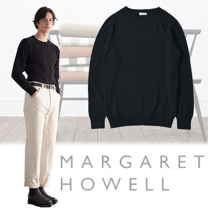Cashmere Long Sleeves Plain Shirts