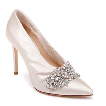 Badgley Mischka Plain Pin Heels Party Style With Jewels