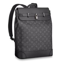 Louis Vuitton MONOGRAM Monogram Canvas Blended Fabrics Street Style A4 2WAY