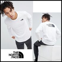 THE NORTH FACE Street Style Long Sleeves Cotton Long Sleeve T-Shirts