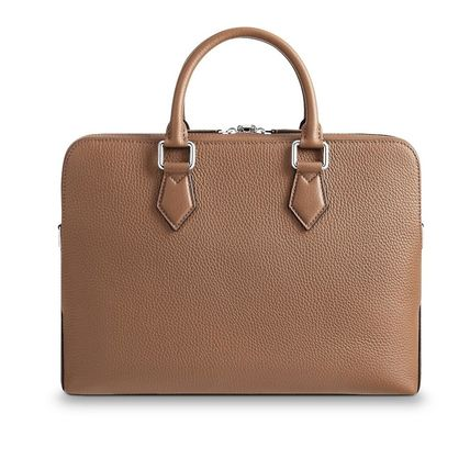 Louis Vuitton Business & Briefcases Blended Fabrics Street Style A4 3WAY Plain Leather 13
