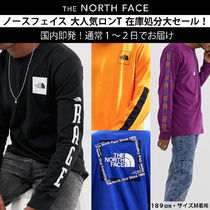 THE NORTH FACE 92 RAGE Crew Neck Pullovers Unisex Street Style Long Sleeves Cotton