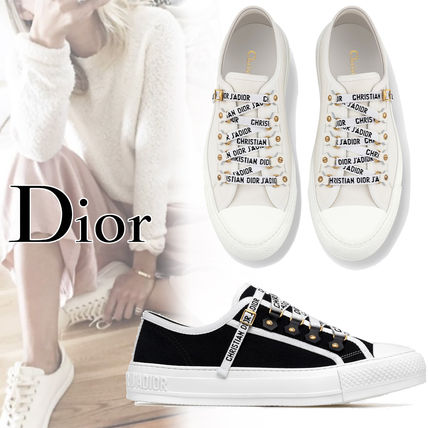 7cb5ecf23cd10f Christian Dior Women s White Shoes Street Style  Shop Online in US ...