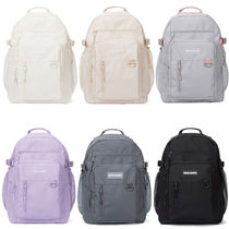 NEIKIDNIS Casual Style Unisex Nylon Street Style A4 Plain Backpacks